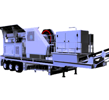 Wheel-type Mobile Crusher